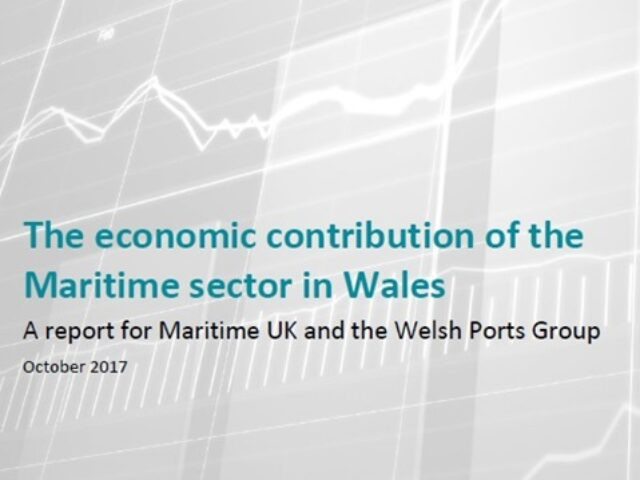 New report highlights value and contribution of Welsh maritime sector