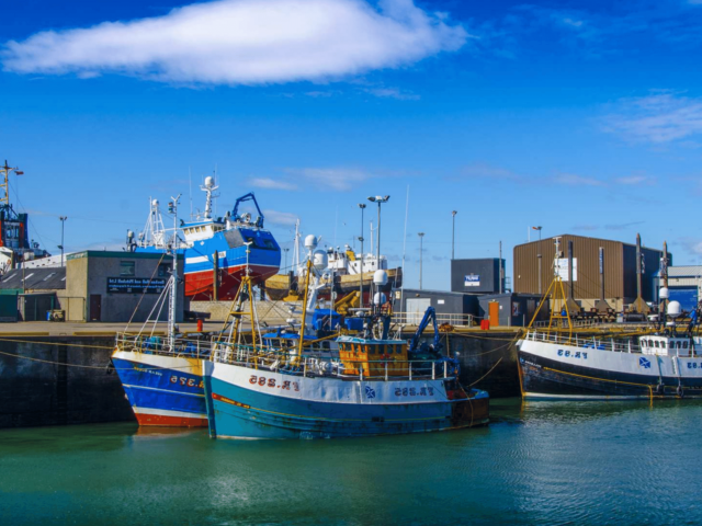 Fraserburgh: Fishing for Litter