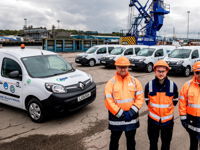 ABP's East Anglian Ports Invest in New Fleet of Electric Vehicles